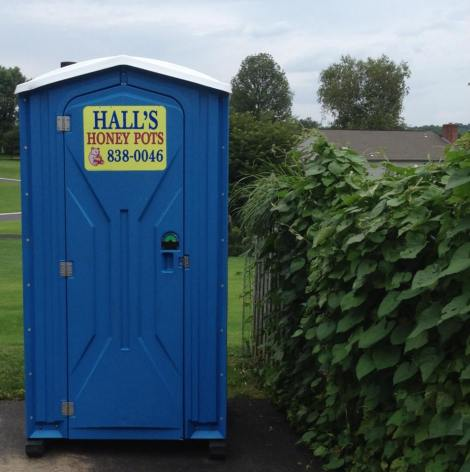 "The spot-a-pot has become a Bozapalooza staple item.  ""Halls: We're number 1 for your number 2"""